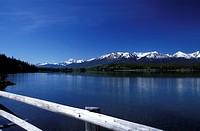 Pyramid Lake, Canadian Rockies, Alberta, Canada