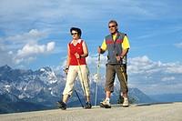 Nordic walking _ couple
