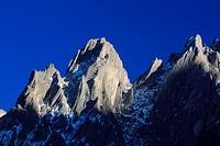 Engelshoerner and Rosenlaui_Valley, Switzerland, Berner Oberland