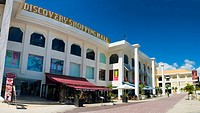 Modern shopping center, mainly for tourist, in Kuta, Bali, Indonesia, Asia