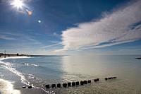 Baltic Sea beach, Germany, Mecklenburg_Western Pomerania, Baltic Sea, Darss