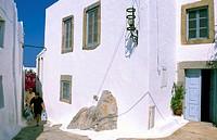 Lane, Chora, Patmos Island, Dodecanese Islands, Greece