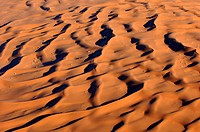 dunes of Sossusvlei _ aerial view, Namibia
