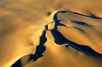 dunes of Sossusvlei _ aerial view, Namibia