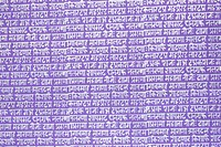 Close_up of text on sheet of handmade paper