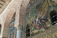 Mosaics in the Cappella Palatina (Chapel) at Palazzo dei Normanni (Palace), Palermo, Sicily, Italy