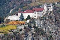 Saeben Abbey, Klausen, Trentino_Alto Adige/Suedtirol, Italy