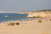 Portimao beach, Portimao, Algarve, Portugal