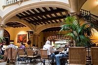 Cappuccino Cafe and Bar, Sant Miguel Street, Palma de Mallorca, Spain