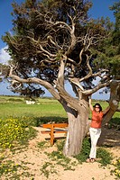 Monica Gumm at Cape Greco, Cyprus, Greece, Europe