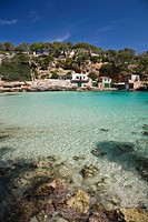 Bay of Cala Llombards, Mallorca, Majorca, Balearic Islands, Spain, Europe