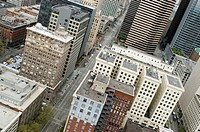 City center, down town of Seattle, Washington State, USA, United States of America