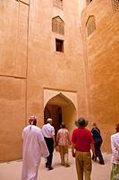 Jabreen Fort. Oman. Persian Gulf. Arabia, Middle East.