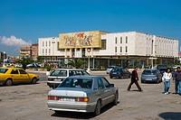 Sheshi Skenderbej square in Tirana Albania Europe