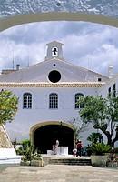 Church of Monte Toro  Minorca  Balearic islands  Spain