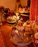 Museum of Childhood, Dublin, Co Dublin, Ireland, Exhibit of dolls