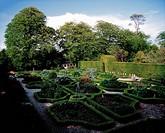 Kinoith House Gardens, Kinoith, Co Cork, Ireland, Edwardian garden during Spring