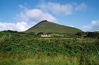 Achill Island Near Doogort Slievemore Mt., Co Mayo,