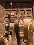 Horseback sculpture, Jaipur, Rajasthan, India