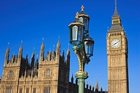 The Houses of Parliament and Big Ben, UNESCO World Heritage Site, Westminster, London, England, United Kingdom, Europe
