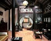 Traditional style Vietnamese house, Hanoi, Vietnam, Indochina, Southeast Asia, Asia