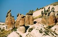 Turkey  Central Anatolia  Cappadocia  Goreme valley