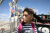 Iraqi refugee girl on a school trip in Amman  Many Iraqi refugees have settled in Amman, Jordan because of the ongoing violence in their own country  ...