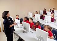teaching a computer class