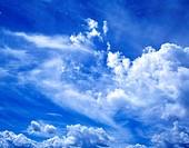 Blue Sky in the San Juan Mountains, Colorado