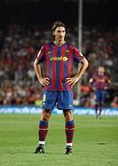 Zlatan Ibrahimovic, Swedish footballer, FC Barcelona, 2009