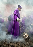 Guatemala, Hoy week, incense carrier