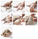 Stuffing chicken under the skin