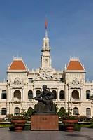 The City Hall of Saigon City, Vietnam, Asia