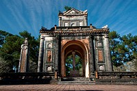 The Emperor´s tomb Lang Tu Duc in Hue city, Vietnam, Asia