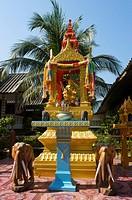 Shrine, Mae Nam Beach, Ko Samui, Thailand
