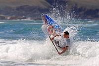 Waveski Surfer, Emerald Beach, Coffs Harbour, Australia