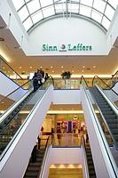 Shopping mall Riem Arcaden in Munich, Germany, Bavaria