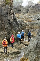 Hiking around Spring Island in Kyuquot Sound can resemble a bit of a moonscape with it´s rugged rock formations and the fog and misty rain rolls in of...