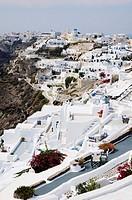 Greece, Cyclades, Santorini  Village of Oia