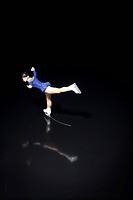 Figure skater skating