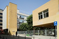 Dispensari Antituberculos (Central Antituberculosis Clinic) by architect Josep Lluis Sert, Barcelona, Catalonia, Spain