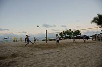 Beach, Game, São Paulo Hill, Salvador, Bahia, Brazil
