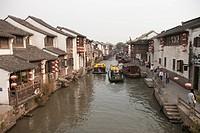 Shangtang jie, City of Suzhou, Jiangsu Province, China