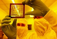 Photomask, Photolithography Room, clean room, photolithography, CIC nanoGUNE Nanoscience Cooperative Research Center, Donostia, Gipuzkoa, Euskadi, Spa...