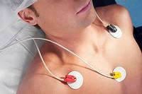 Patient undergoing electrocardiogram test