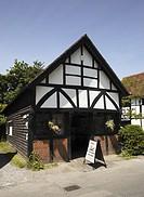The Old Forge blacksmiths shop at Shere Surrey England UK