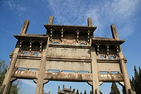Paifang Qun area, a special kind of architecture, Wannan, Anhui province, China