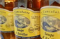 FISH SOUP, GUYNEMER FISH SHOP, SAINT_MALO, ILLE_ET_VILAINE 35, FRANCE