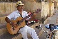 Street Musician, Trinidad, Cuba