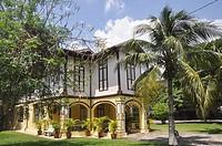 Malacca (Malaysia): a colonial house